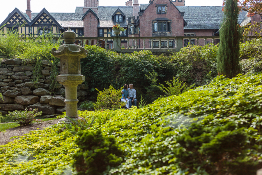 Stan Hywet Hall and Gardens Engagement Session: Adam + Brittany ...